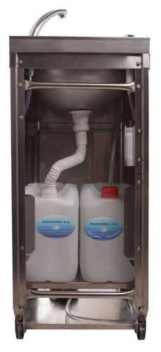 Lavamanos portatil autonomo precio for Precio de lavamanos